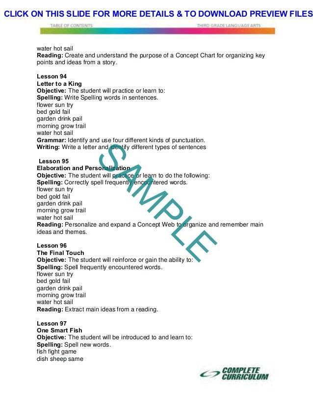 3rd Grade Homeschool Curriculum - Third Grade Homeschool