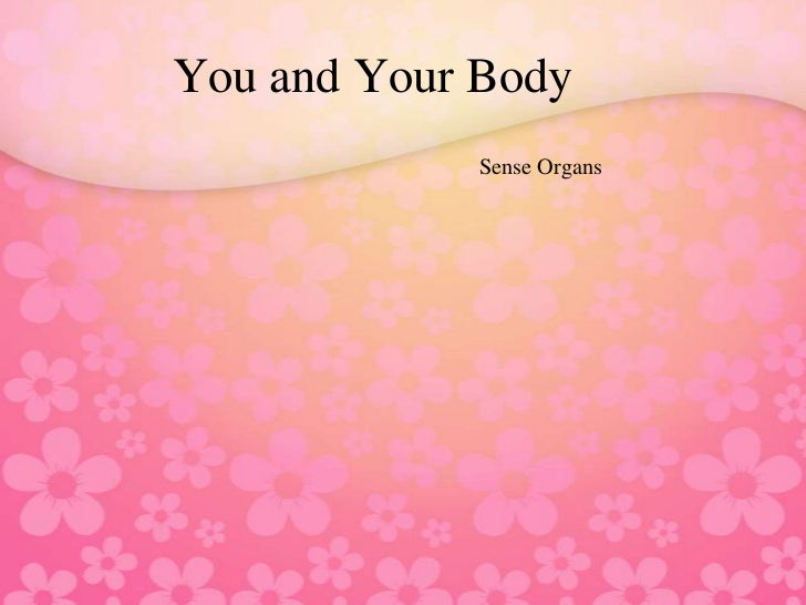 You and Your Body             Sense Organs