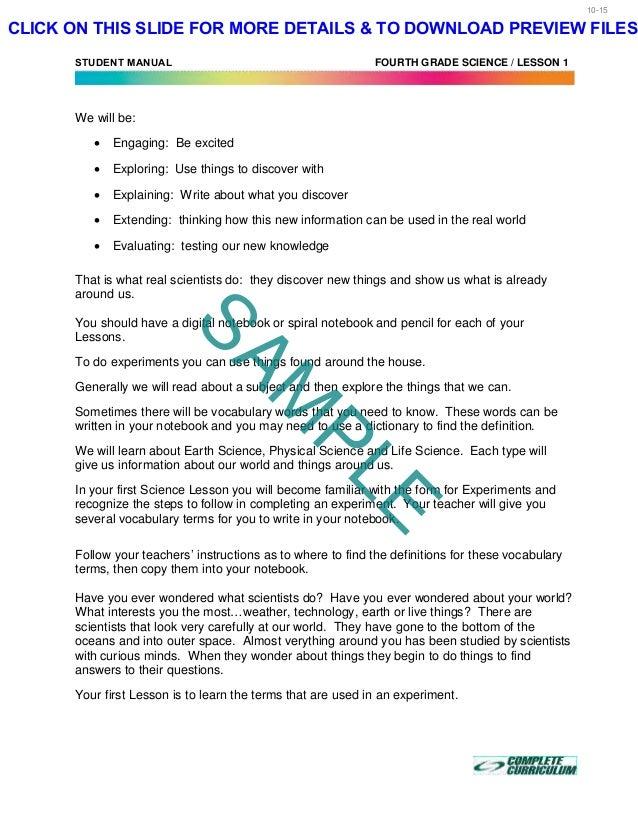 4th Grade Homeschool Curriculum Fourth Grade Science Best Homeschoo