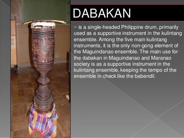 picture of mindanao instruments Kulintang instrument pictures muslim mindanao instruments 1 kulintang ~ is a modern term for an ancient instrumental form of music composed on a row of small.