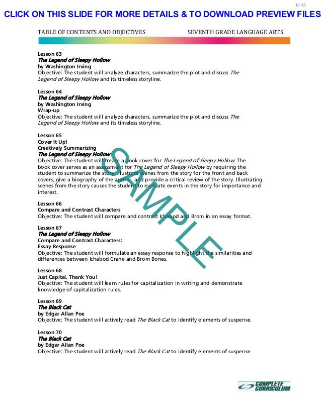th grade homeschool curriculum seventh grade reading language ar  8