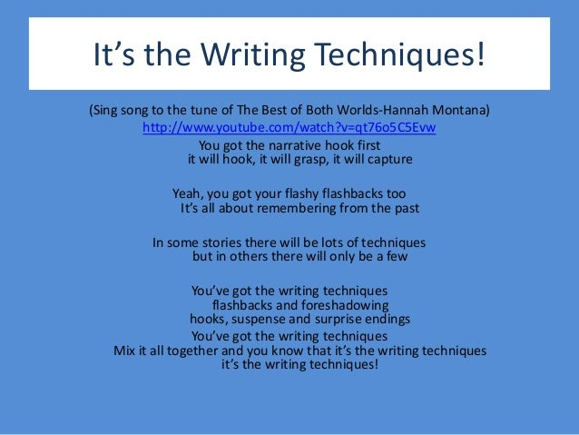 hook techniques in writing
