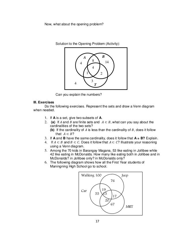 Grade 7 learning materials in math 21 ccuart Image collections
