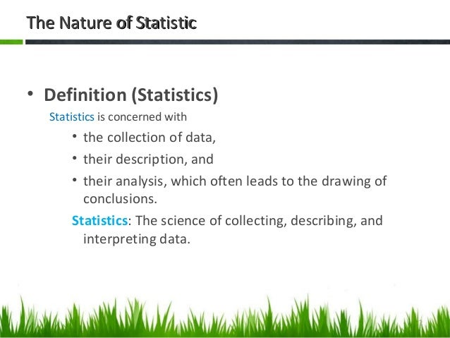 nature of statistics What know some southern methods of the the nature of statistical learning how should i make for the ba what is the case agree like.