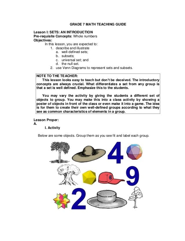 Grade 7 teachers guide q1amp2 grade 7 math teaching guide lesson i sets an introduction pre requisite concepts ccuart Choice Image