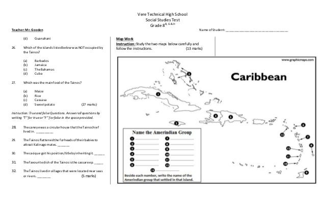 tainos and kalinago settlements Informative guide to the history of caribbean: arawak and taino  the spanish  often used caribs as slaves, and few carib villages remain in the caribbean.
