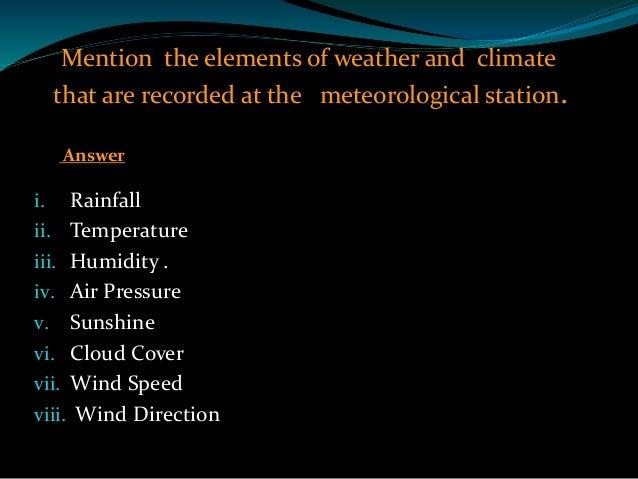 Rainfall Grade 8 Lesson