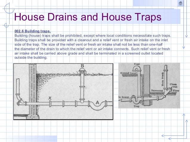 House Trap Vent Diagram Wiring Circuit