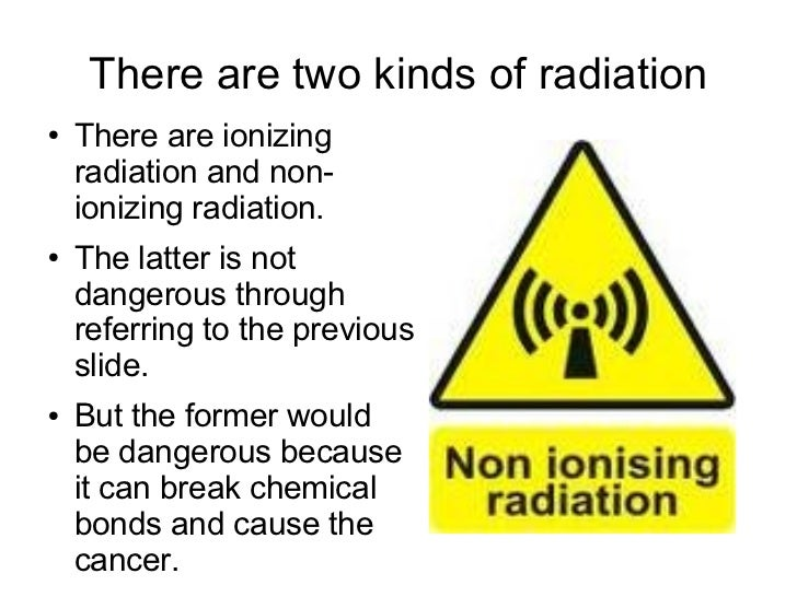 Image result for Non-Ionizing Radiation health Effects