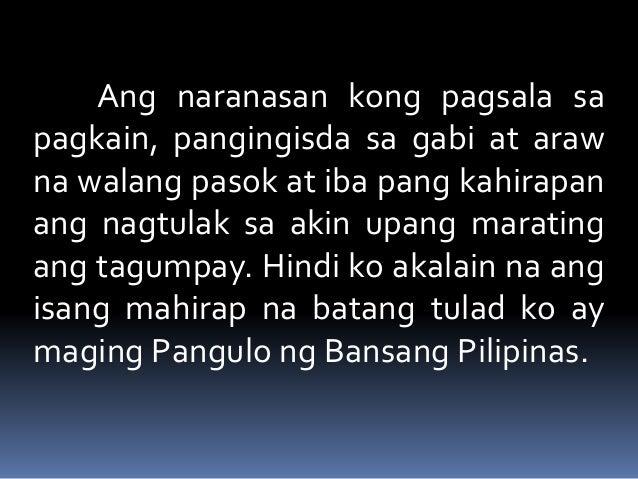 Talambuhay ng dating pangulong manuel roxas 4
