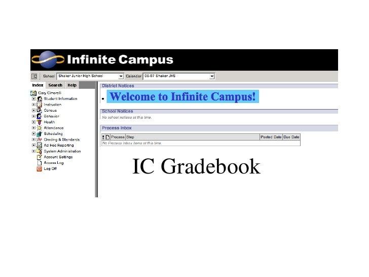 IC Gradebook