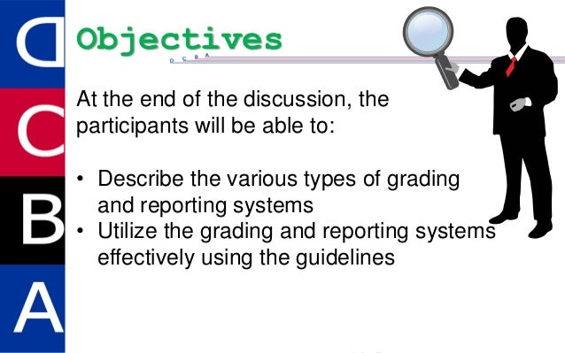 Grading and reporting Slide 3
