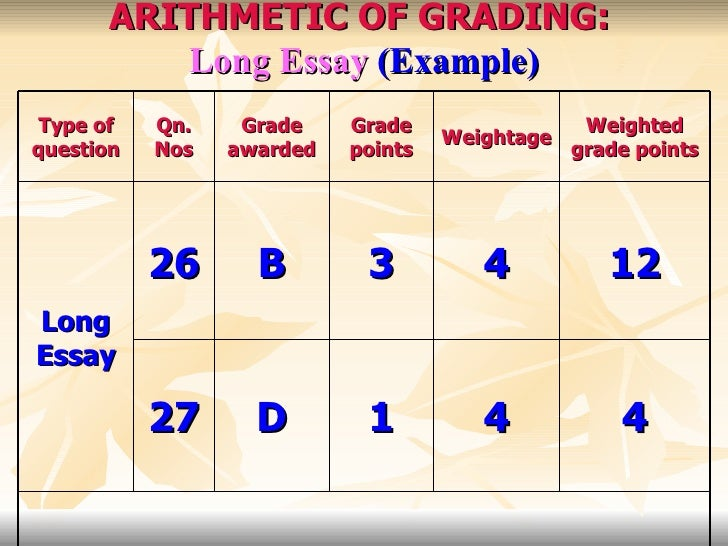 grading system in higher education courses 23 arithmetic of grading long essay