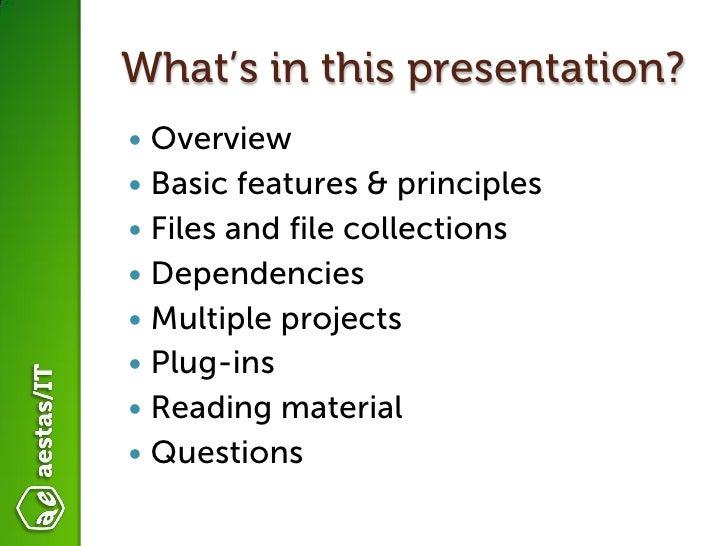 Introduction to Gradle  Slide 3