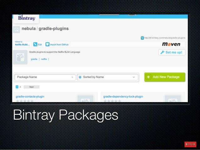 Bintray Packages