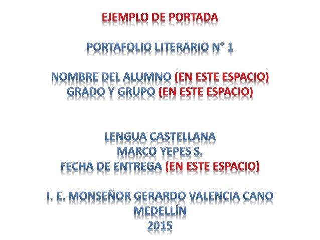 TOP 10 MIS ESCRITORES Y OBRAS LITERARIAS PREFERIDAS DEL GRADO 8° PERIODO UNO