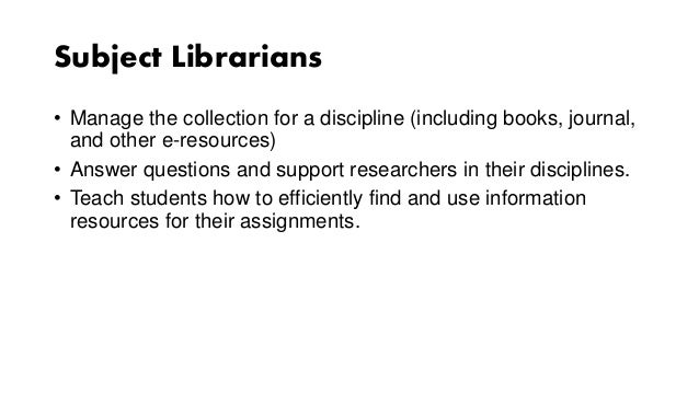 library support for your coursework research teaching