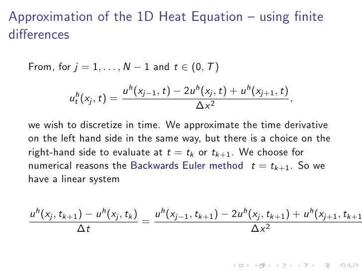 How to Solve a Partial Differential Equation on a surface