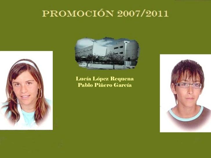 Lucía López Requena Pablo Piñero García