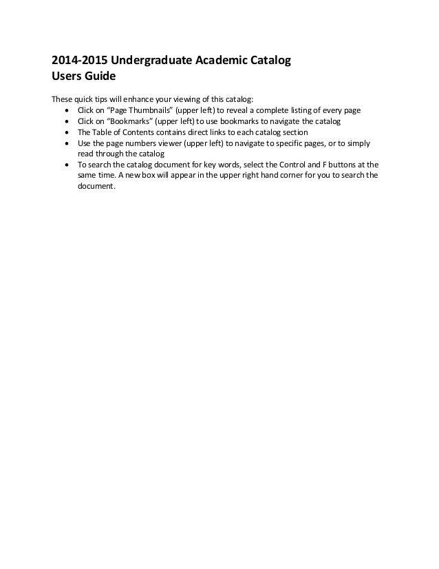 concordia university chicago graduate catalog 2014 2015 final web
