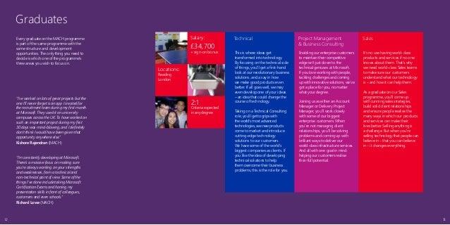 microsoft 2014 graduate brochure