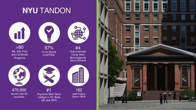 Graduate Engineering NYU School Information Webinar
