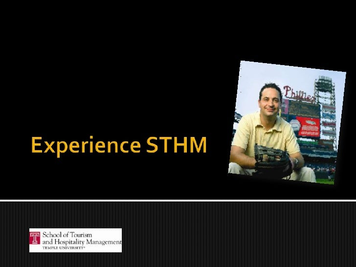 Experience STHM<br />