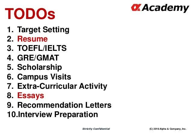 Graduate School Admissions Advisory