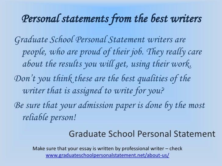Graduate paper writers
