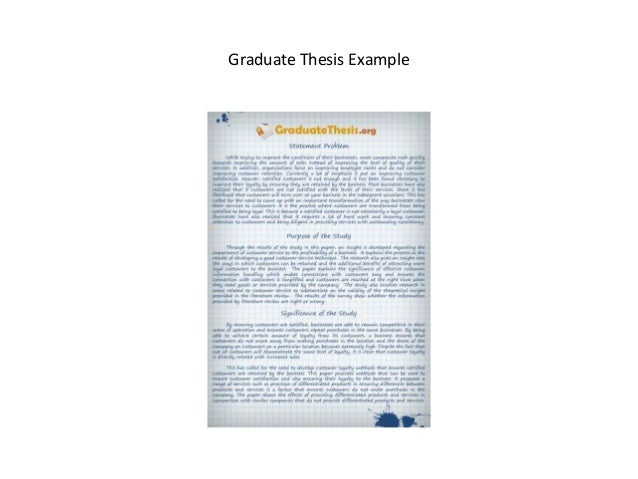 graduate thesis in 2015-7-13 thesis format guide this guide has been prepared to help graduate students prepare their research papers and theses for acceptance by clark university.