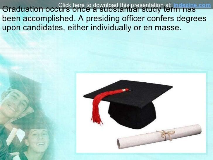 Graduation PowerPoint Presentation Slide 2