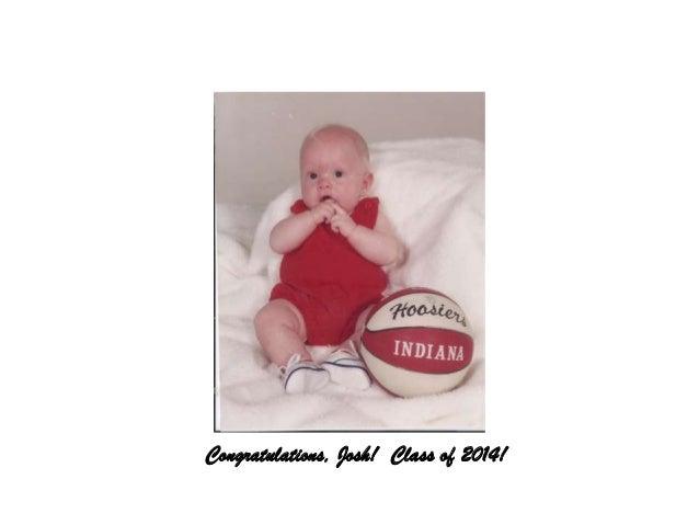 Congratulations, Josh! Class of 2014!
