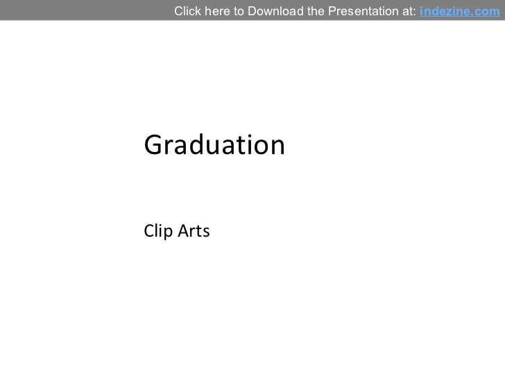 Graduation Clip Arts for PowerPoint