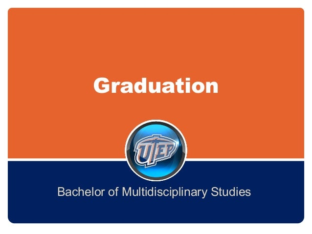 Graduation Bachelor of Multidisciplinary Studies