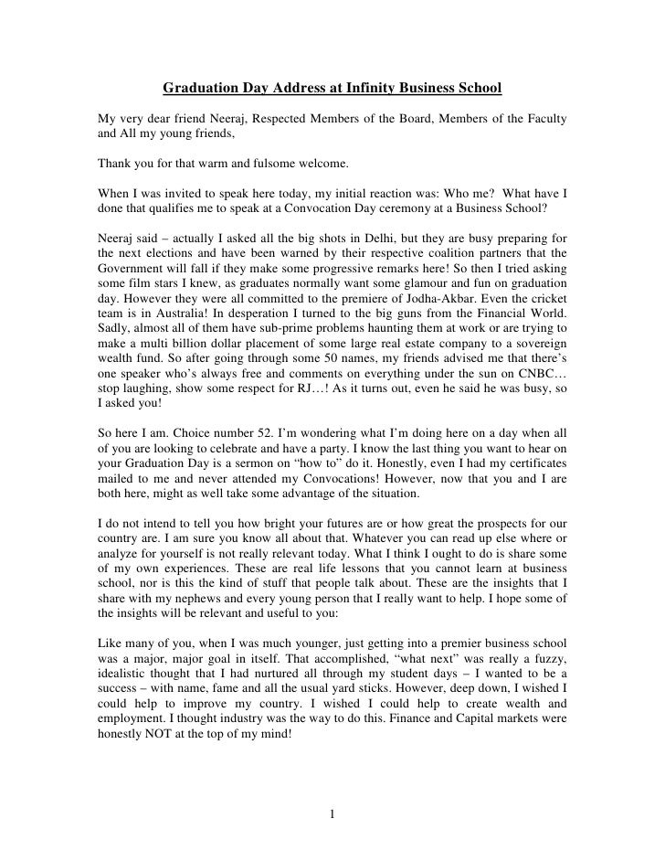 Welcome Speech Essay Examples