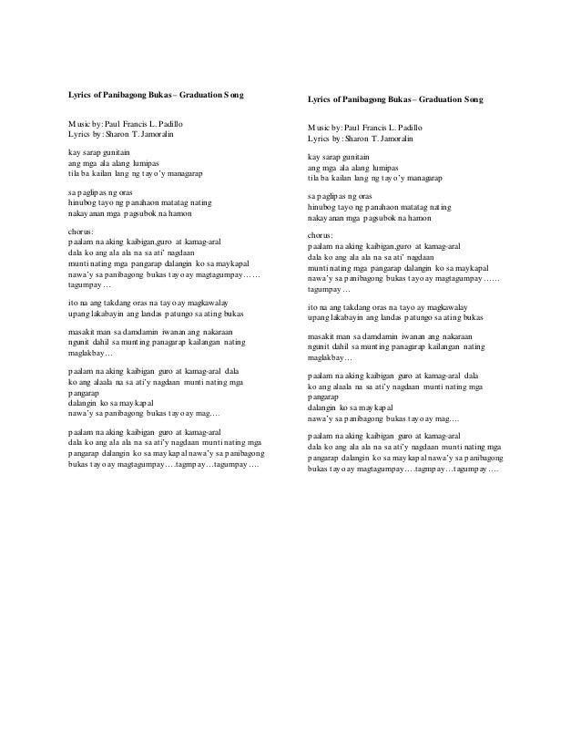 Lani Misalucha – Bukas Na Lang Kita Mamahalin Lyrics ...