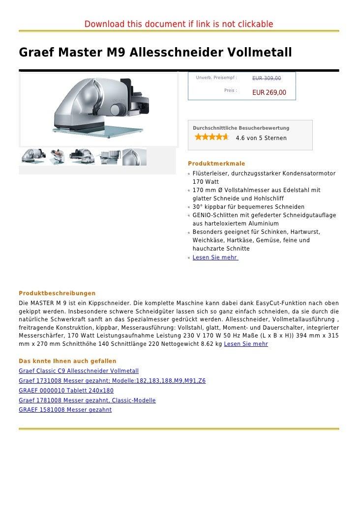 Graef Tablett   Edelstahl    0000010