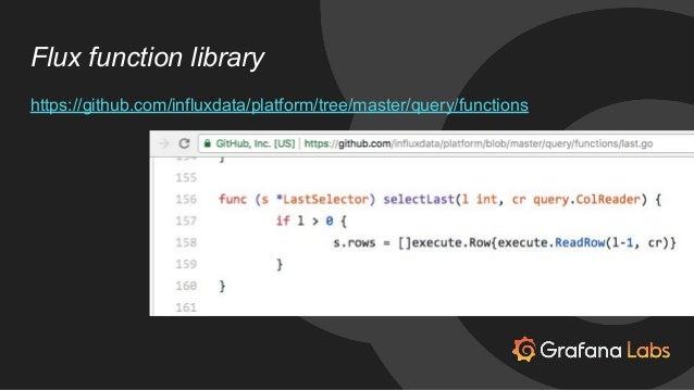 Optimizing the Grafana Platform for Flux