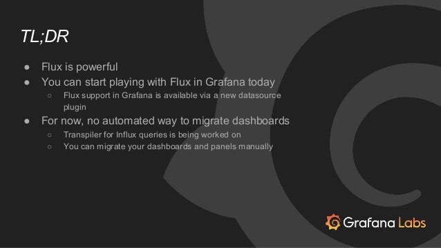 Optimizing the Grafana Platform for Flux
