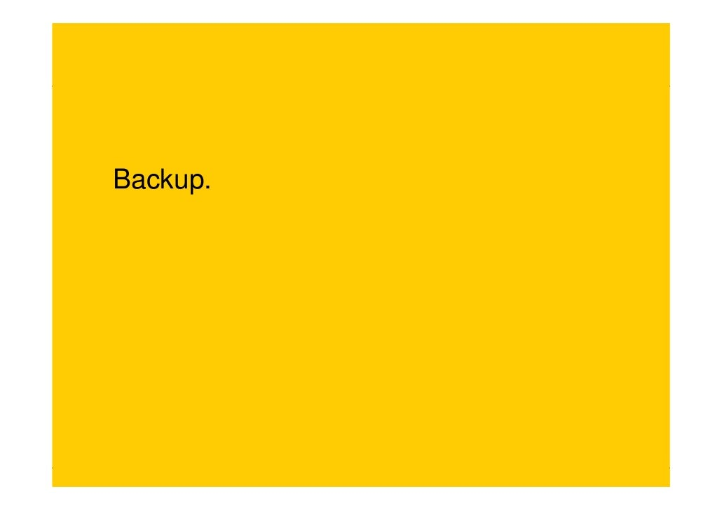 Backup.     Empfehlerkarte | Bonn | 18. Juni 2010   Seite 8