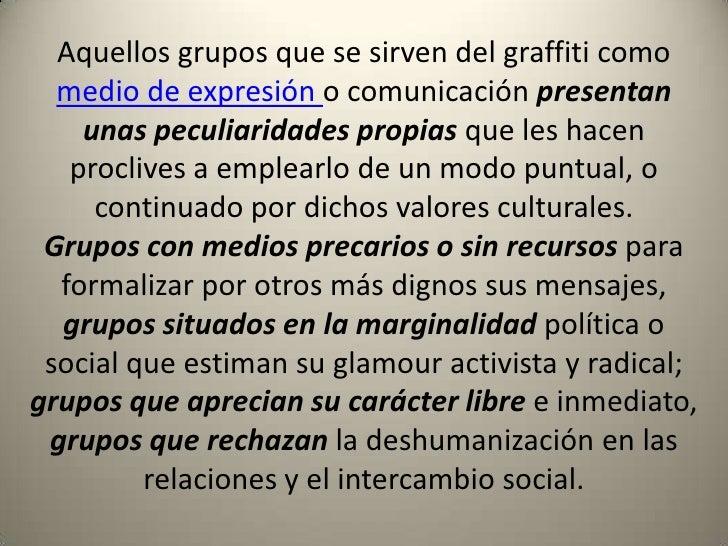 Graffiti como expresi n social - Definicion de glamour ...