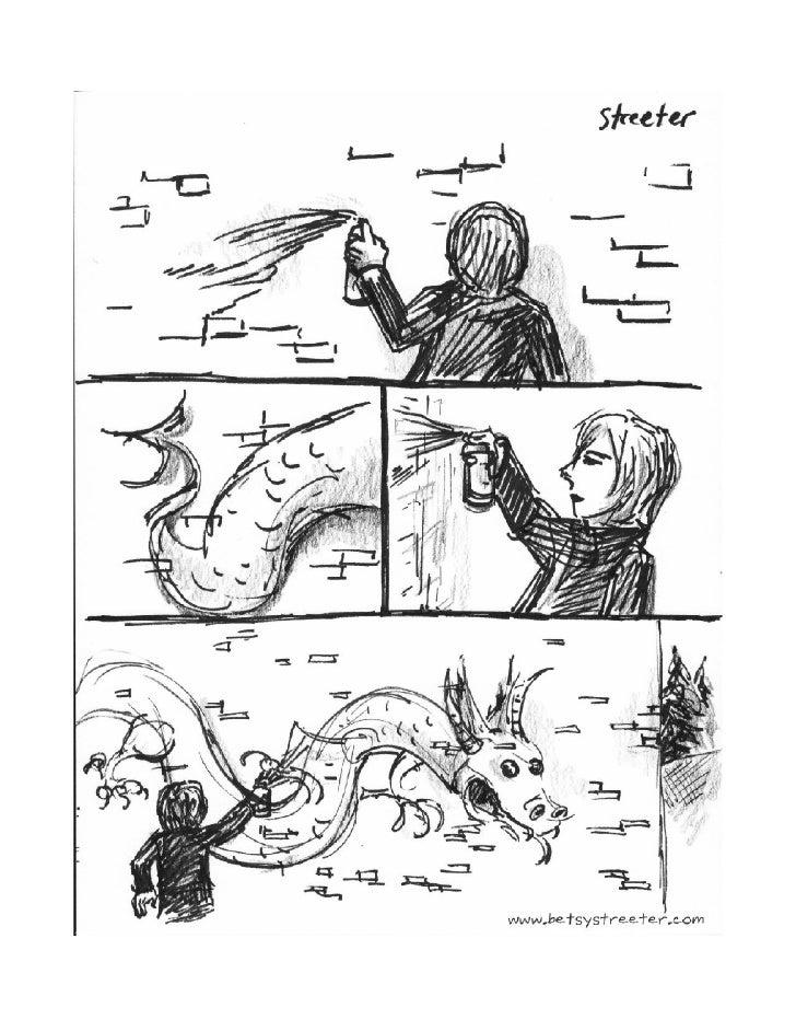 Graffiti Dragon Slide 2