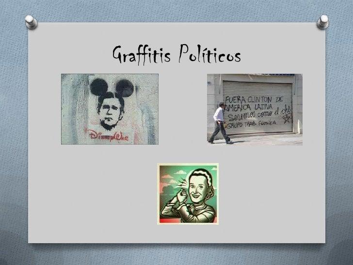 Graffitis Políticos<br />