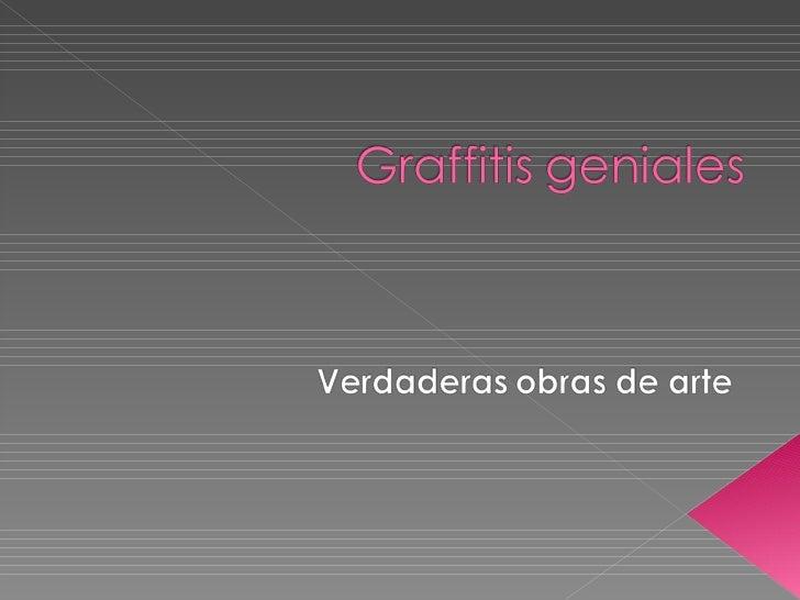 Graffitis geniales verdaderas-obras_de_arte