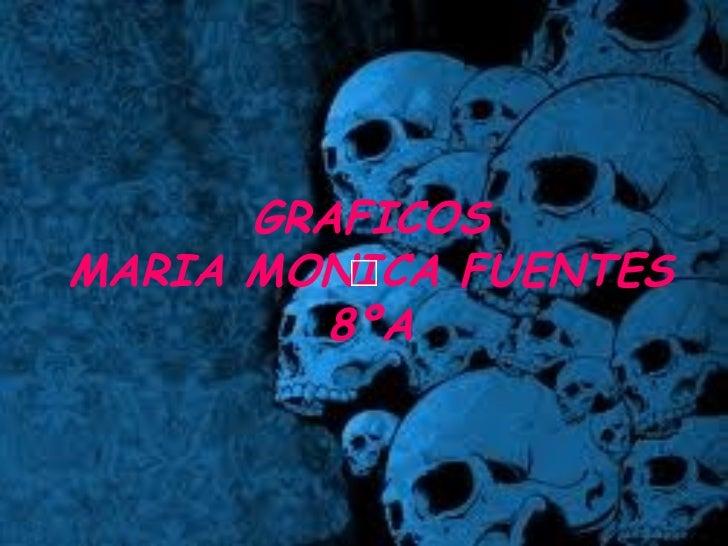 GRAFICOS MARIA MONICA FUENTES 8º A