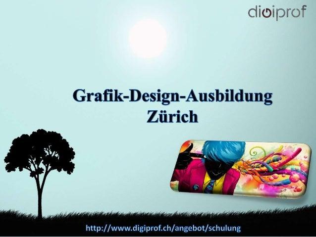 Grafik-Design-Ausbildung Zürich
