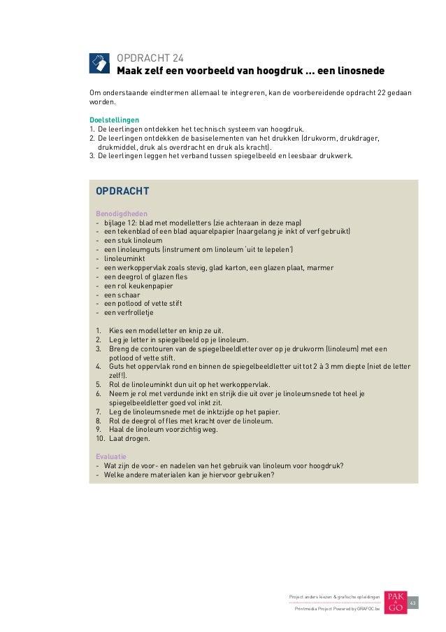 Grafoc printmedia leermap 2013 voor leerkrachten - Kiezen werkoppervlak ...