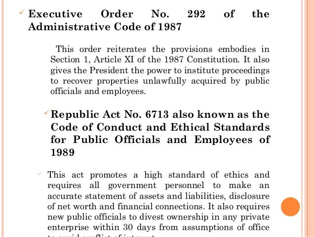 republic act 6713 Republic act 6713, otherwise known ra6713 pdf the code of conduct and ethical ii, section 2 of the revised penal code, and for such other offenses ii, section 2 of the revised penal code, and for such other offenses.