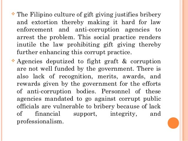 Graft & corruption in the government