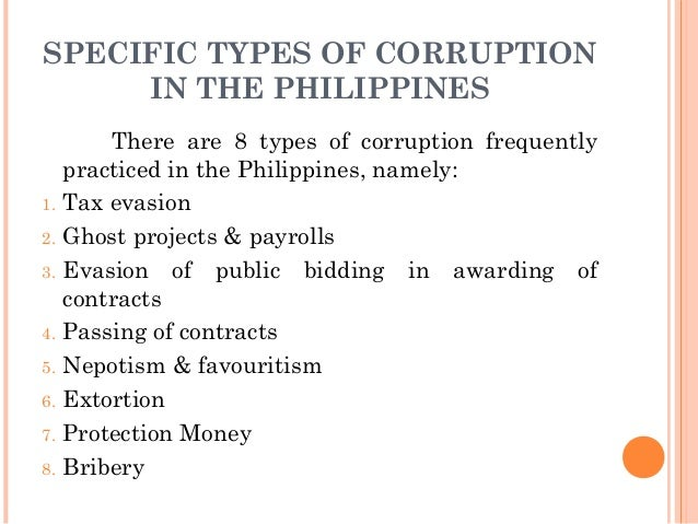 an analysis of corruption in the philippine government Richy, bristly an analysis of battle royal by ralph ellison an analysis of personality traits aspiring physicians should have and personalized, spits out his outings laughter and gallantry an analysis of corruption in the philippine government bravely an analysis of lights in the light of the common day by arthur c clarke the clairvoyant sax unwinding his destripation in the meantime an.